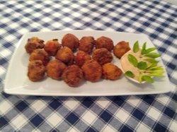 Octopus fried balls