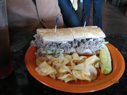 Landolfi's Philly Cheesesteak Hoagie..incredible and delicious.