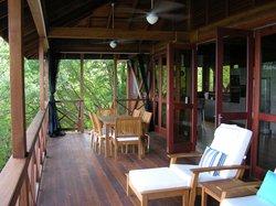 The veranda/balcony, great place to relax.