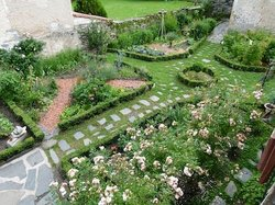 le jardin de curé