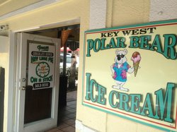 Key West Polar Bear Ice Cream
