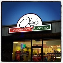 Oley's Pepperoni Cannoli