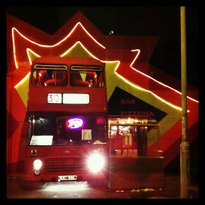The Big Red Pizza Bus