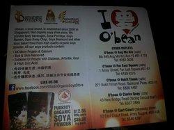 O'bean Organic Soya Store