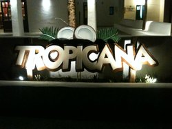 Tropicana beach bar