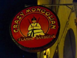 Crazy Mongolian Flaming Barbecue