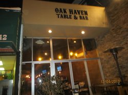 Oak Haven Table and Bar