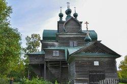 Церковь Успения Пресвятои Богородицы в Нелазском