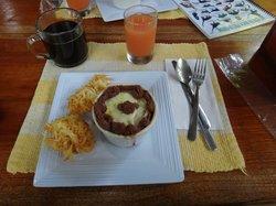 Excellent Breakfast. Tastes as good as it looks!