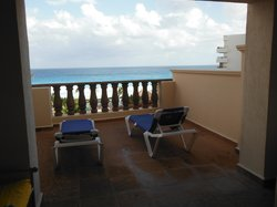 Our balcony