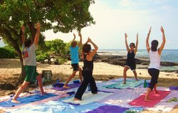Hawaii Beach Yoga