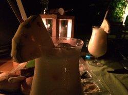 Candle beach dinner
