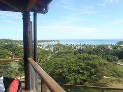 Villa Marau view towards Cove