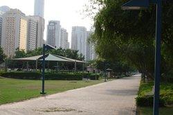 Gardens opposite the Corniche