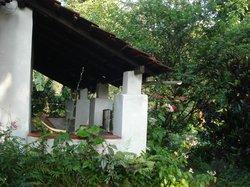 Veranda at Plantation Cottage