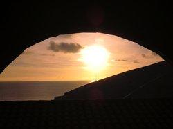 Sonnenuntergang in der 7. Etage