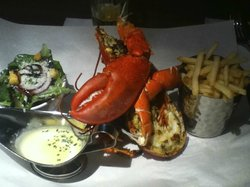 Burger and Lobster at Harvey Nichols