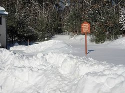 Access to XC Skiing Trails