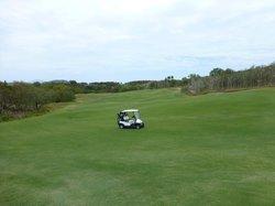Golf course on Dent Island