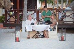 Romantic Dinner@Ricardo's Restaurant aruba