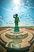 Maya Devi Temple, Lumbini, Nepal - Statue of baby Buddha