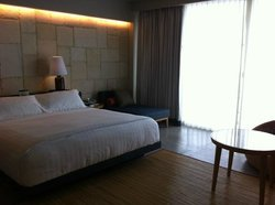 Large room, with king size bed