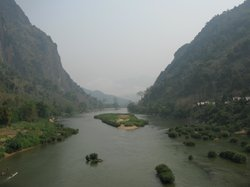 Nam Ou River looking west