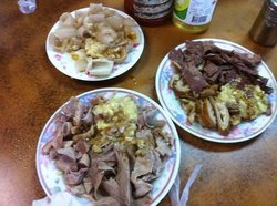 澎湖漁港老店米粉麵