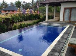 Infinity Pool at Villa Agung Maia