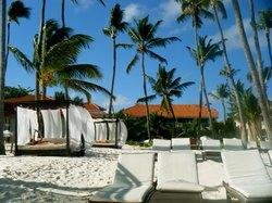 preferred club beach area