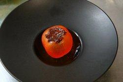 Сорбе из хурмы. Persimmon sorbet.