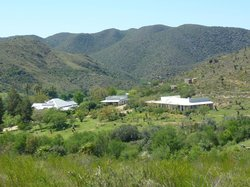 The Retreat from one of the trails into the Swartberg foothills
