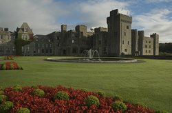 This is really what it looks like!  A true castle hotel