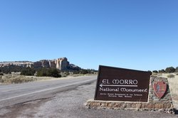 Nearby El Morro National Park.