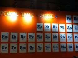 Periodic Table of Cheese