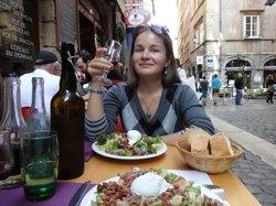 Лионский салат и божоле - можно забыть обо всем!