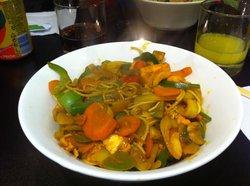 Nouilles & wok