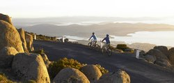 Mt Wellington Descent Bike Ride