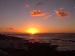 ...und wieder, der Sonnenuntefgang!