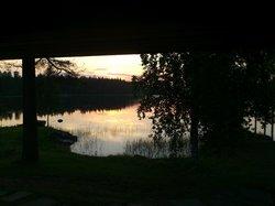 Amazing view from sauna