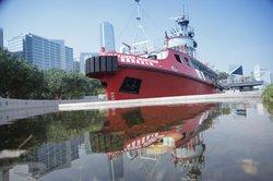 Fireboat Alexander Grantham Exhibition Gallery