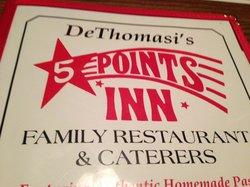 DeThomasi's Five Points Inn