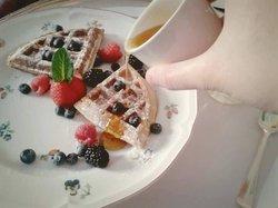 Scrumptious waffles