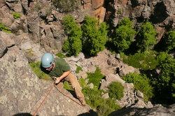 Kokopelli Climbing