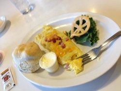 senior breakfast omelet