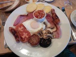 The full Irish breakfast