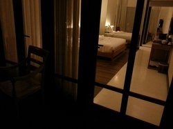Night view of room