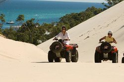 Tangalooma Island Resort - ATV Quad Bike Tours