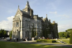 Adare Manor's beautiful architecture of the original, historic wing.
