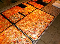la pizza al taglio